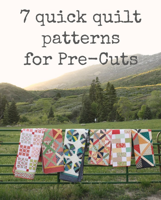 Quick Quilt Patterns for Pre-cuts