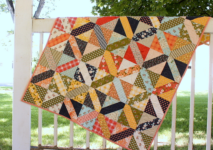Amy Smart Crosshatch quilt