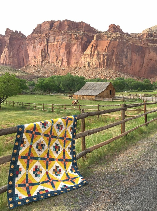 Capitol Reef Quilt pattern by Amy Smart