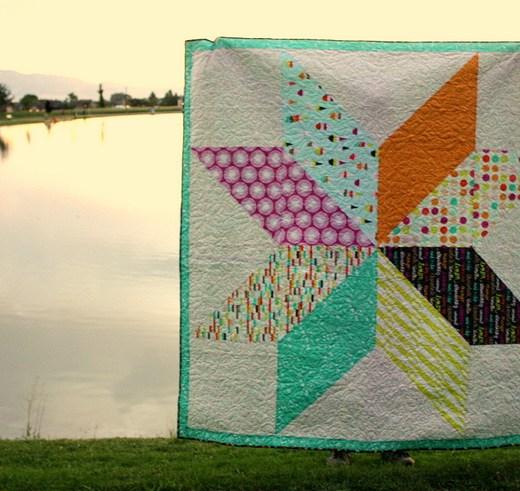Boardwalk Delight Art Gallery Fabrics quilt
