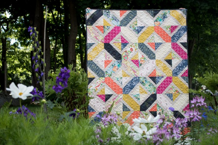 Quilter's Planner quilt by Amy Smart