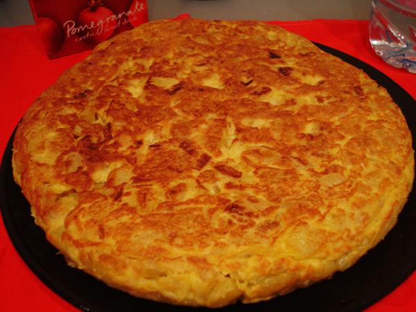 Receita produzida através de ovos e batatas.