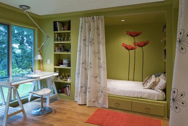 É um dos meios mais baratos para a divisão entre quarto e demais cômodos