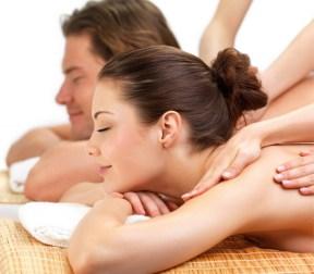As massagens relaxantes são ótimas para equilibrar a musculatura.
