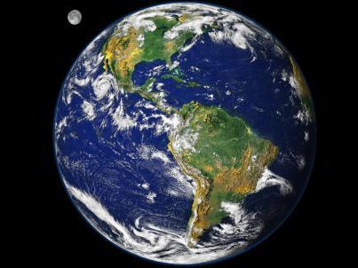 A maior parte da superfície de nosso planeta é composta por água