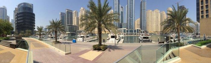 Vue panoramique - Dubai Marina