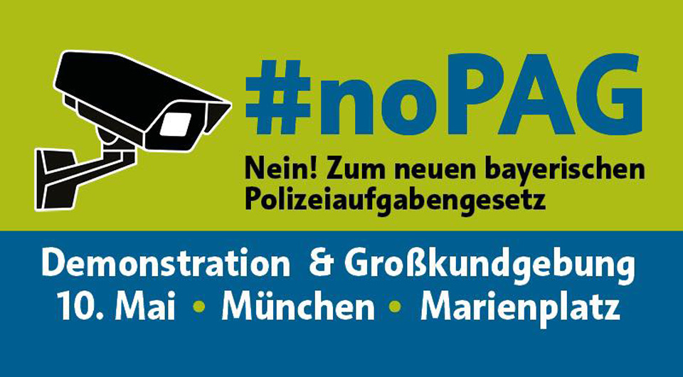 Grosskundgebung - 10.5.2018 - 13 Uhr - Marienplatz