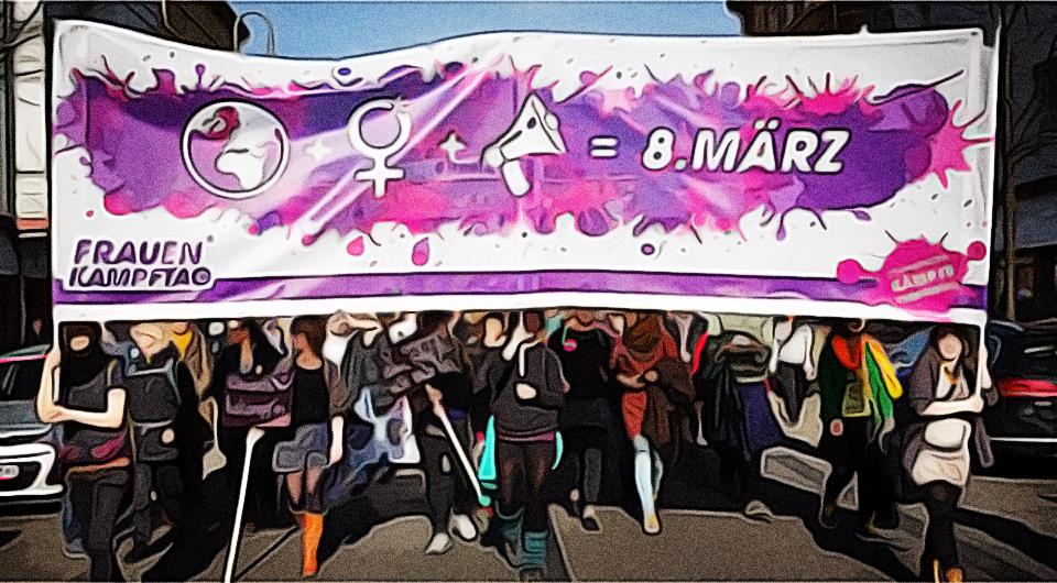 Frauenkampftag 8. März