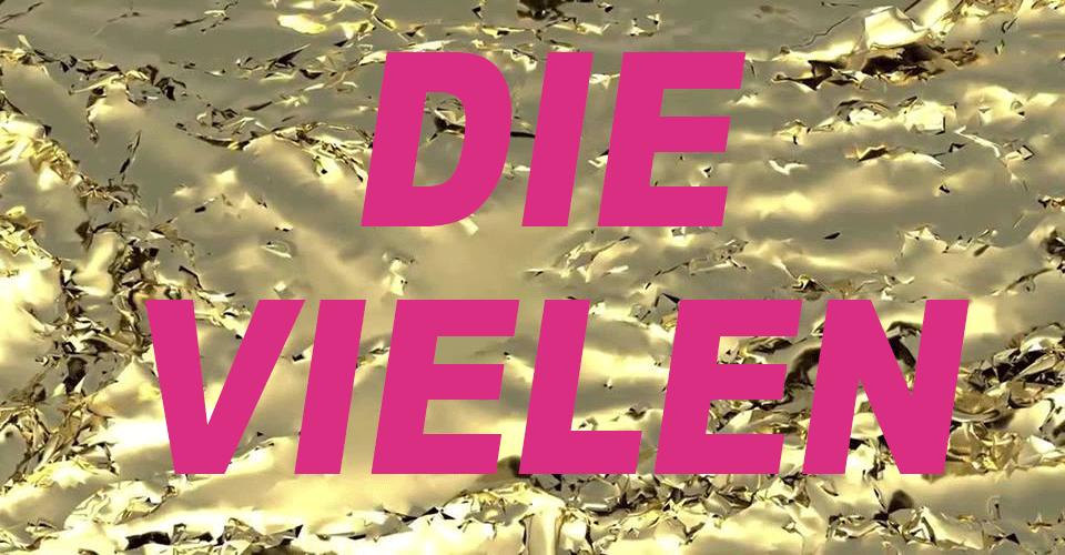 Glänzende Demo - Die Vielen - München 19.4.2019