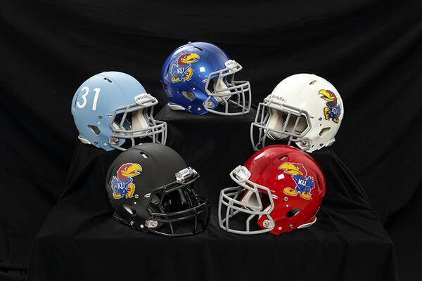 Kansas-Helmet-football