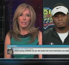 Griffey Jr uncomfortable SportsCenter interview