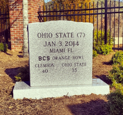 Ohio State Tombstone