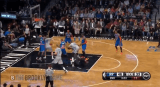 AK47 behind-the-back pass to Mason Plumlee