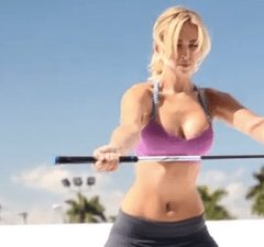 Paulina Gretzky Golf Digest Shoot Boobs