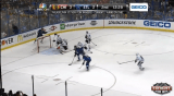 Corey Crawford great save on Tarasenko