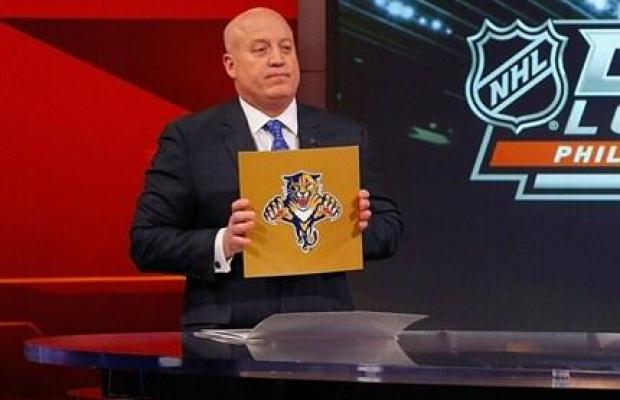 Panthers win NHL Draft Lotto