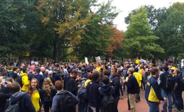 Michigan Protest