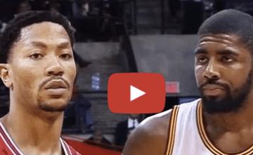 Kyrie Irving vs Derrick Rose
