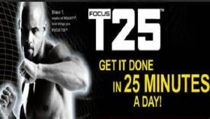 Focus T25 Workout for 25 Minutes with Shaun T