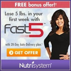 Nutrisystem My Way and Lose 5 Pounds Fast