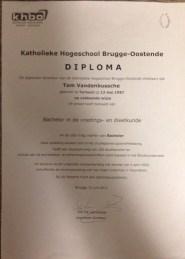 diploma voeding- en dieetkunde