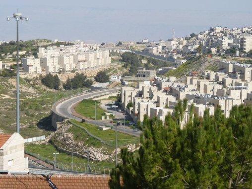Einzelne sogenannte Siedlungen in Ostjerusalem, die sowohl von Juden als auch von Arabern bewohnt werden.