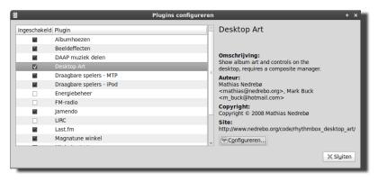 rhythmbox-destkop-art-plugin