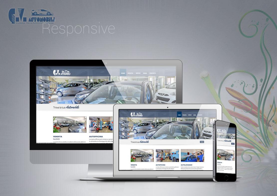 Vacca Automobili - website
