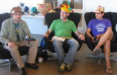 Dave Olson, Rob Cottingham and John Bollwitt