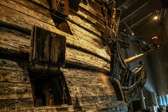 The Vasa now sits in a museum build around it and is one of Stockholm's best tourist attractions.