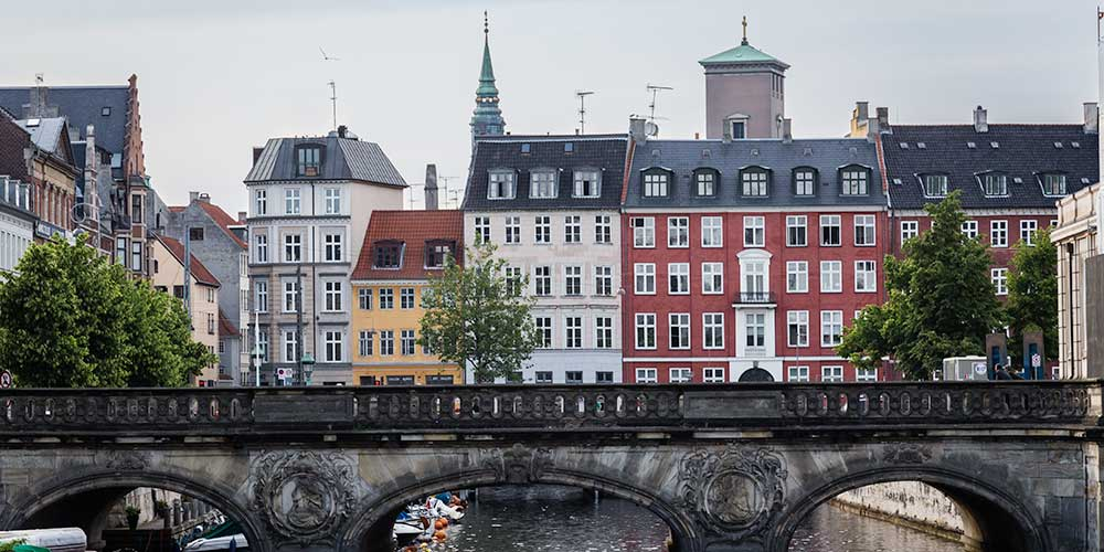 View of Copenhagen, Denmark