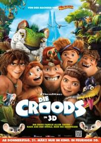 Die Croods 3D- Plakat