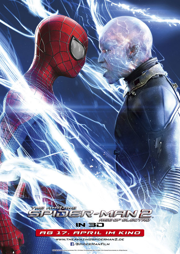 The Amazing Spider- Man 2 -Plakat - Face off