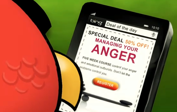 Angry birds miniseries with bing