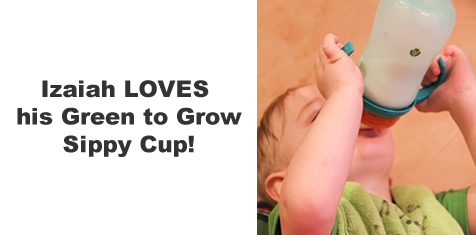 green to grow sippy cups