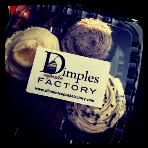 dimples cupcakes