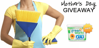 Mother's Day Giveaway - 1 Month of Housecleaning!