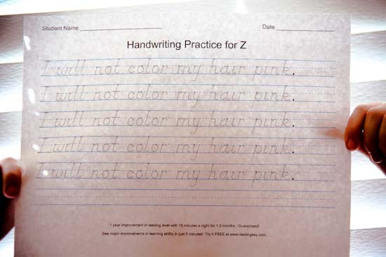 things to do with your kids to improve their handwriting