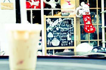 momokos bubble tea in Austin
