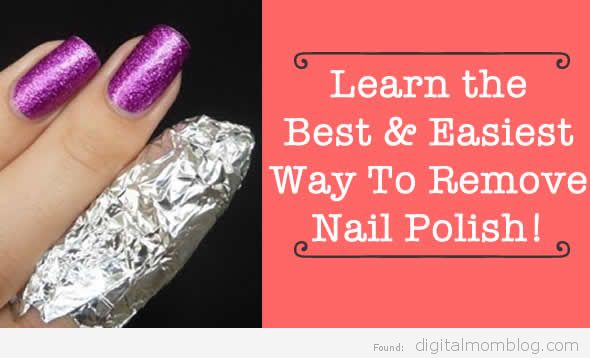 best way to remove nail polish