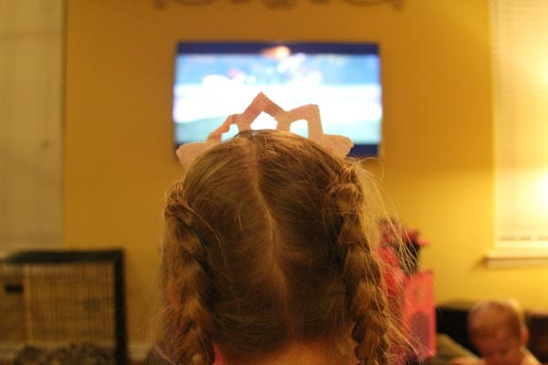 watching barbie the princess and the popstar