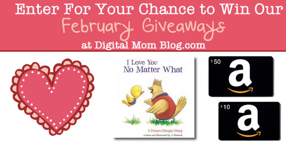 february giveaway