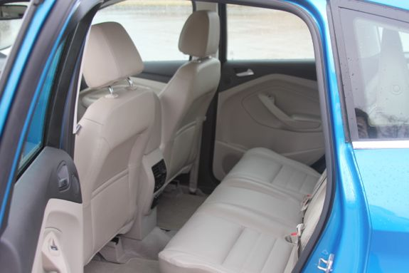 ford cmax back seat