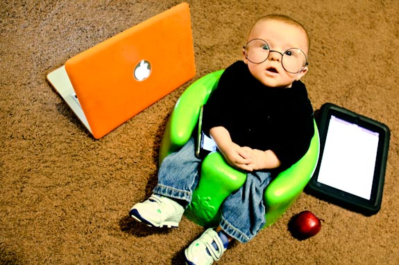 Complete Steve Jobs Costume for Baby