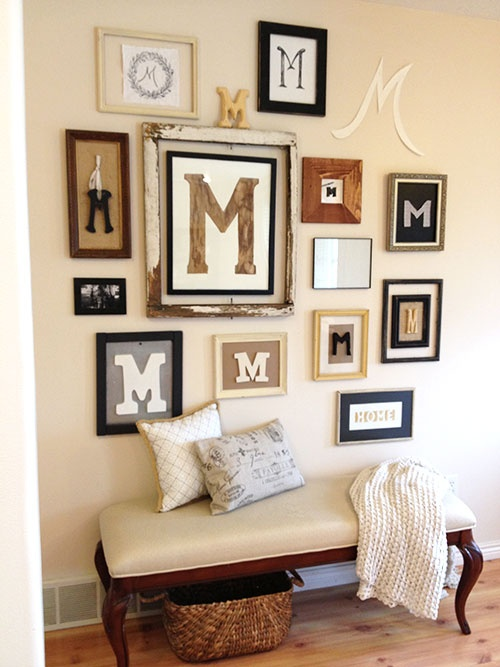 Monogram Wall