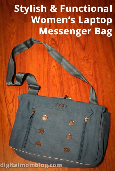 Functional and Stylish Laptop Messenger Bag