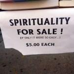 Spirituality for Sale