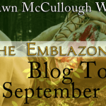 E-Book Review and Giveaway: The Emblazoned Red