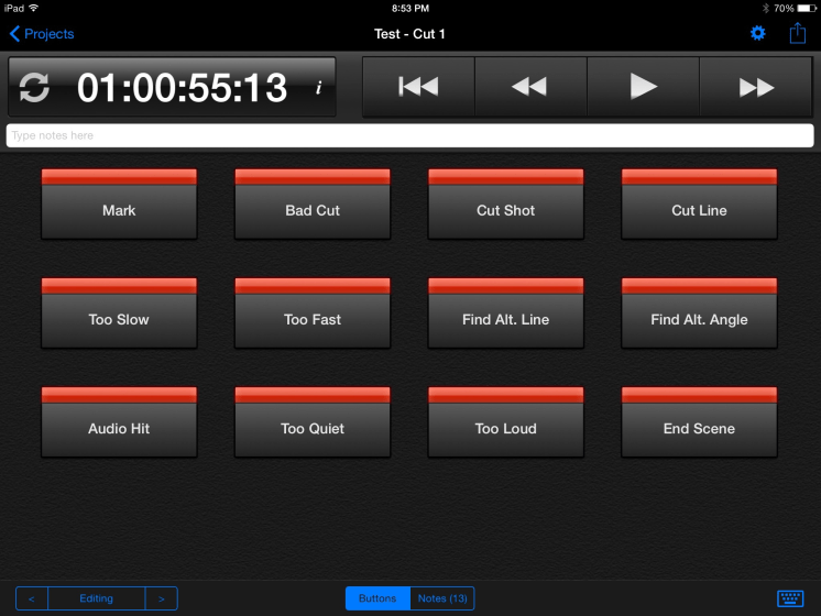 Cut Notes for iPad