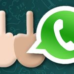 middle finger emoji whatsapp